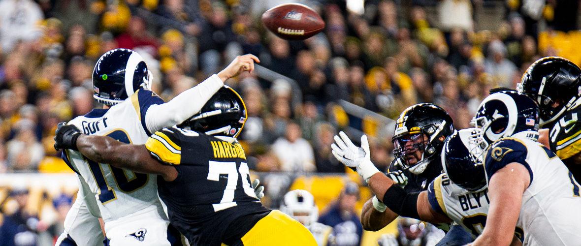 Attacco imballato, vincono gli Steelers
