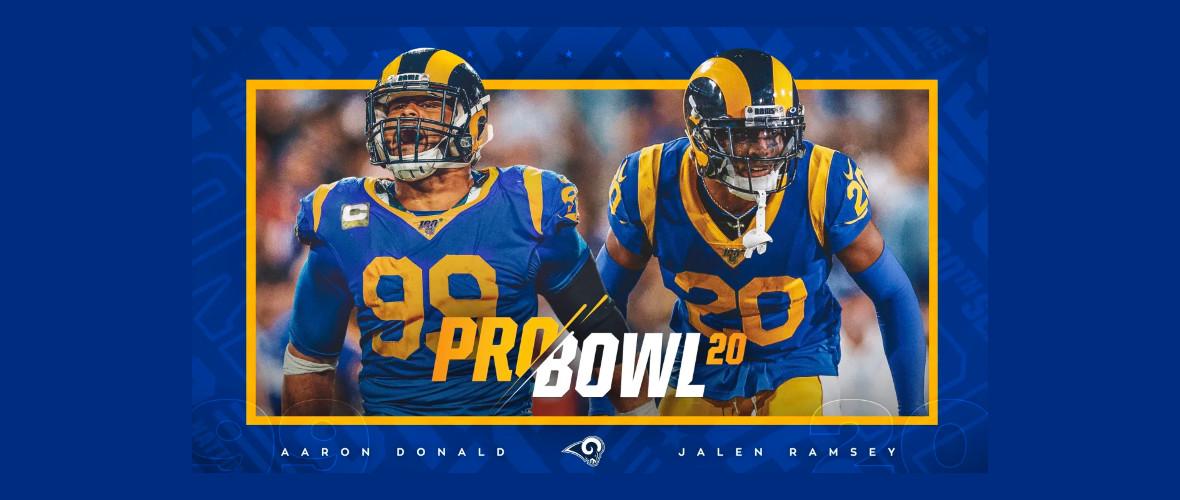 Donald e Ramsey al Pro Bowl. Mistero Hirsch.