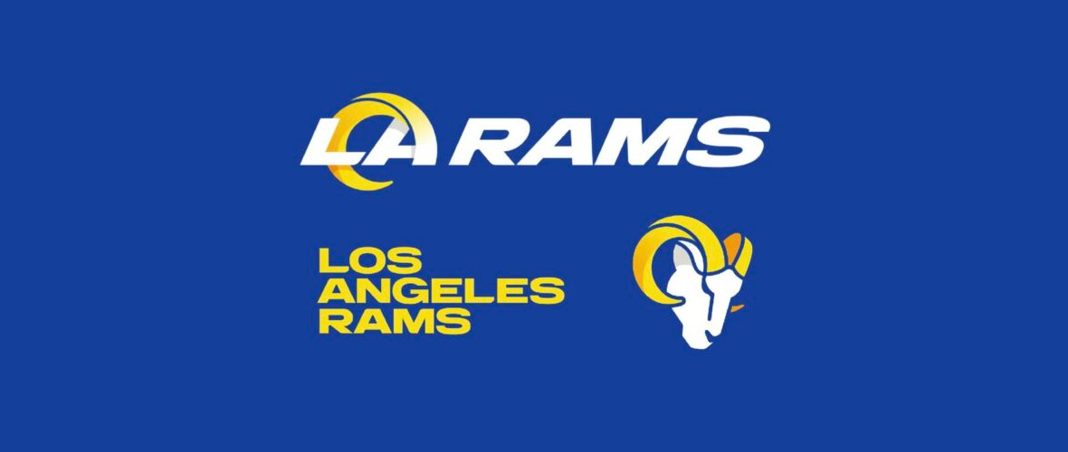 Logo e colori dei nuovi Rams