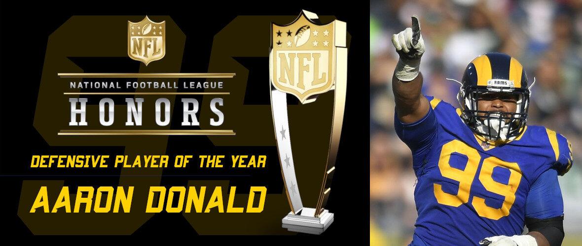Aaron Donald: Miglior Difensore dell'Anno