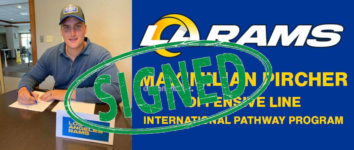 Max Pircher ha firmato il contratto